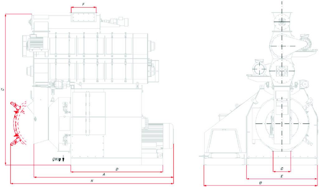 Гранулятор с одним двигателем грай graf